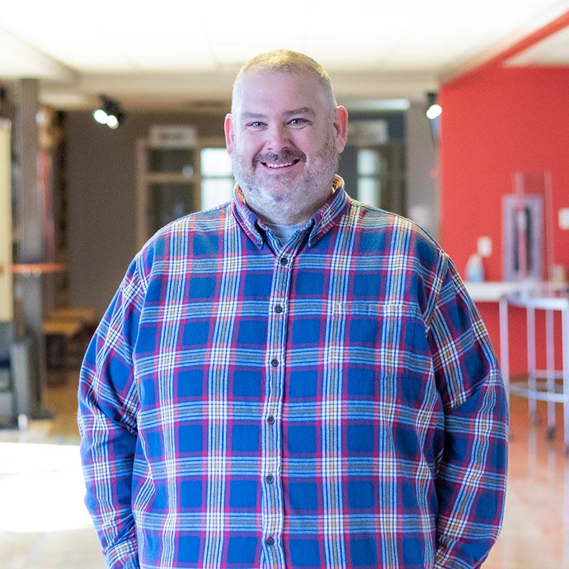 Jason Simister 1 Tipp City Campus Facilities Director