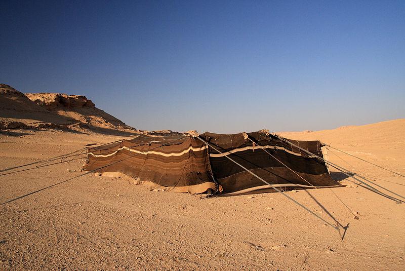 800px Bedouin Tent Syrian Desert 5079932783